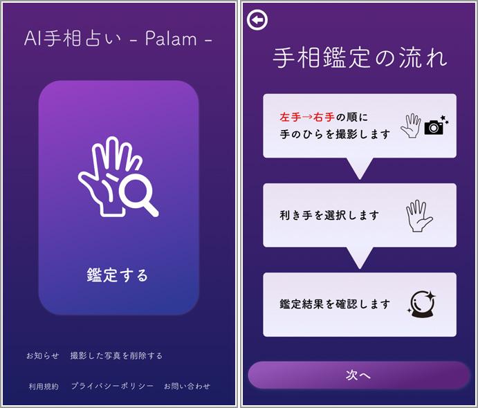 手相 アプリ 無料 AI手相鑑定 スマホアプリならスゴ得コンテンツ【ドコモ公式】